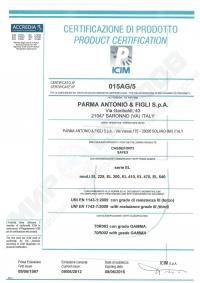 Сейф Parma Antonio&Figli EL 225 KYC3 GREY