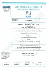Сейф Parma Antonio&Figli EL 225 KYC3 RED